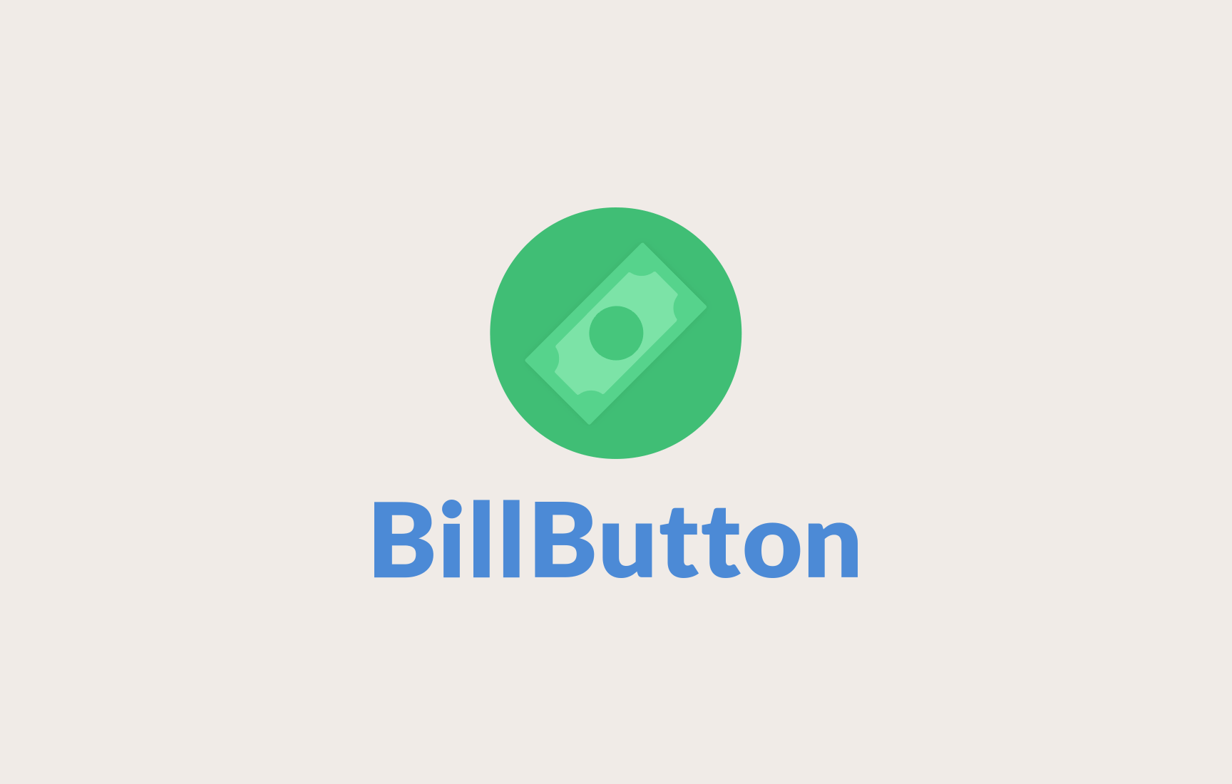 BillButton Logo Design