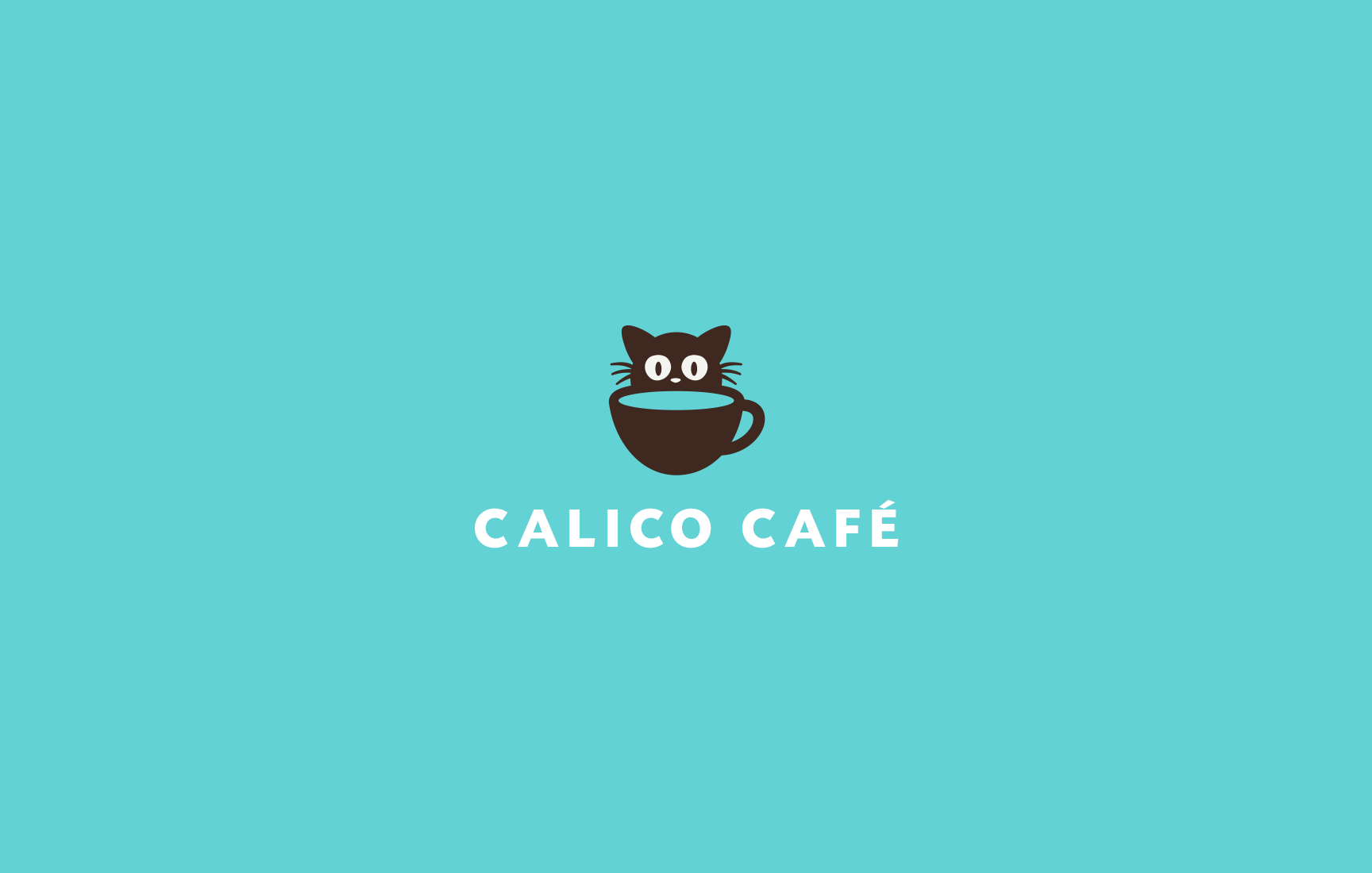 Calico Cafe Logo Design